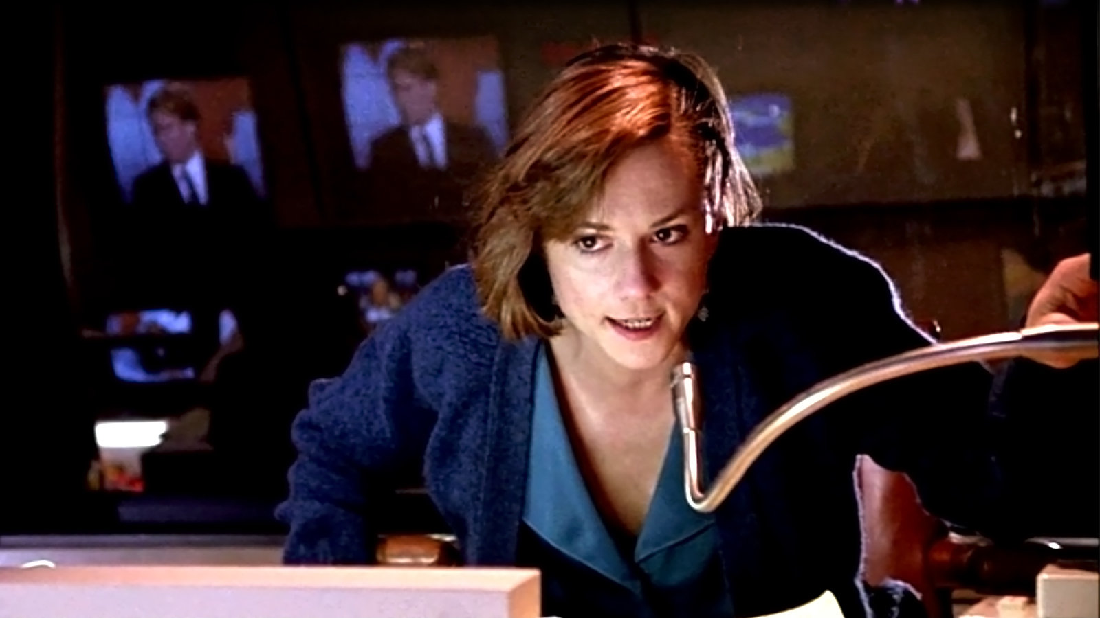 This is Holly Hunter playing me in Broadcast News