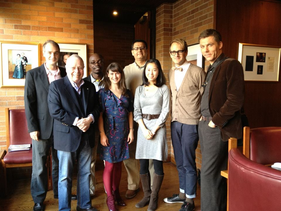 Massey College Southam Journalism Fellowship 2011-2012