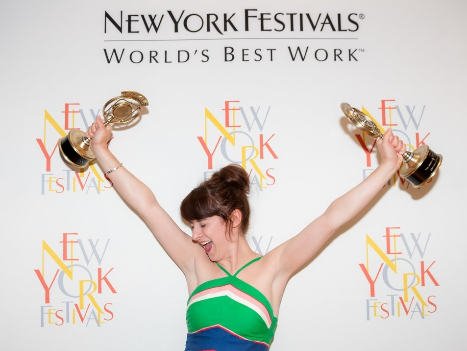 Winner of New York Festival Awards in history, religion and comedy categories