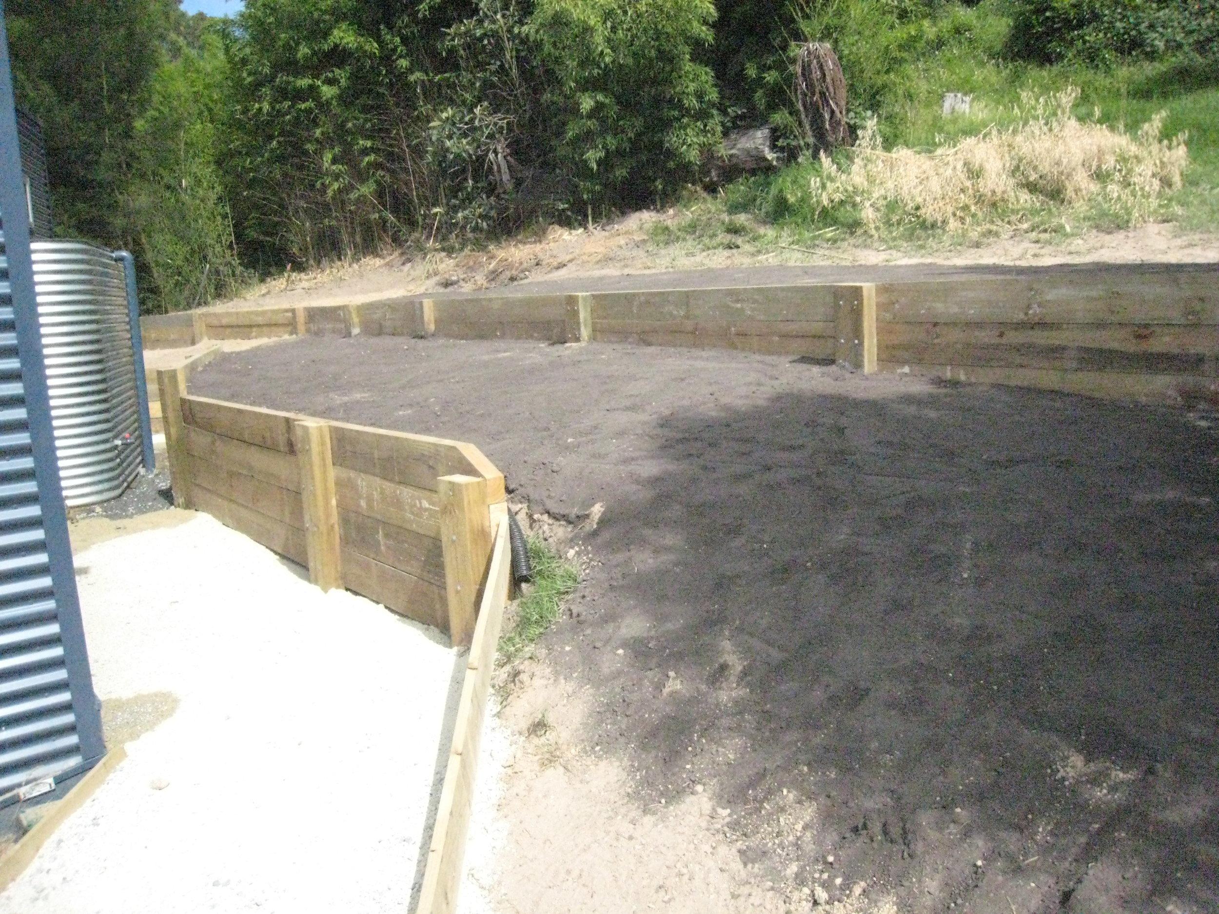EarthLine Excavations retaining wall.JPG