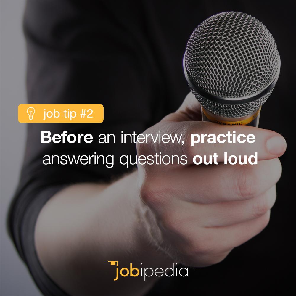 Daily Job Tip