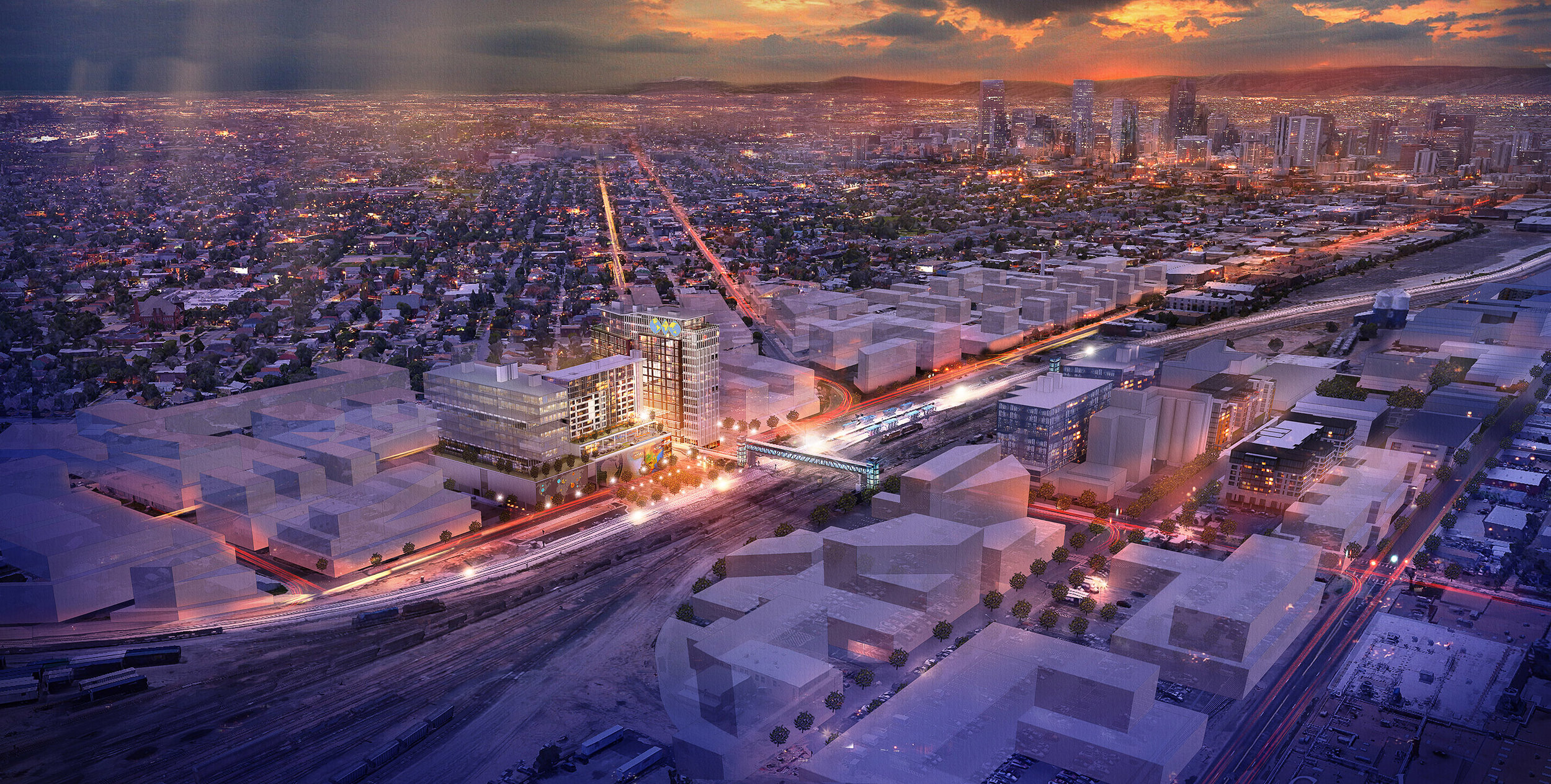 Denver World Trade Center, Denver, CO. Oz Architects