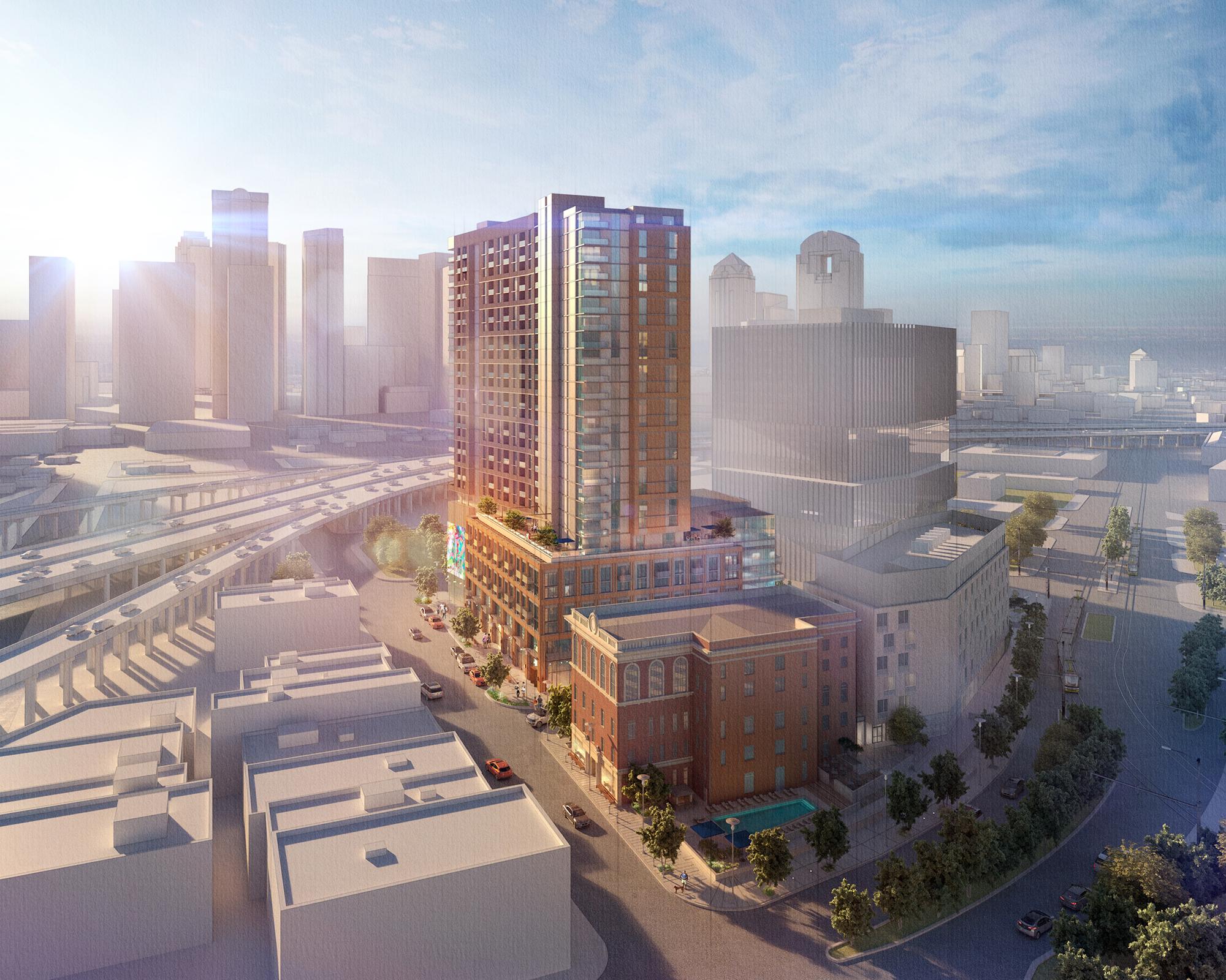 Deep Ellum, Dallas, TX. LRK Architects