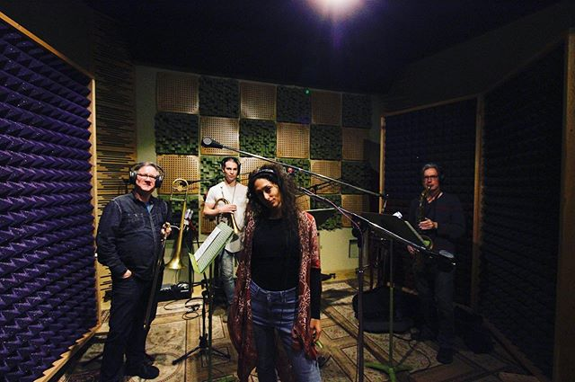 Horns! Thrilled to have this amazing horn section on this record! 🎶 Soul Love 🎶 Coming next month! . 📸: @rgp.foto