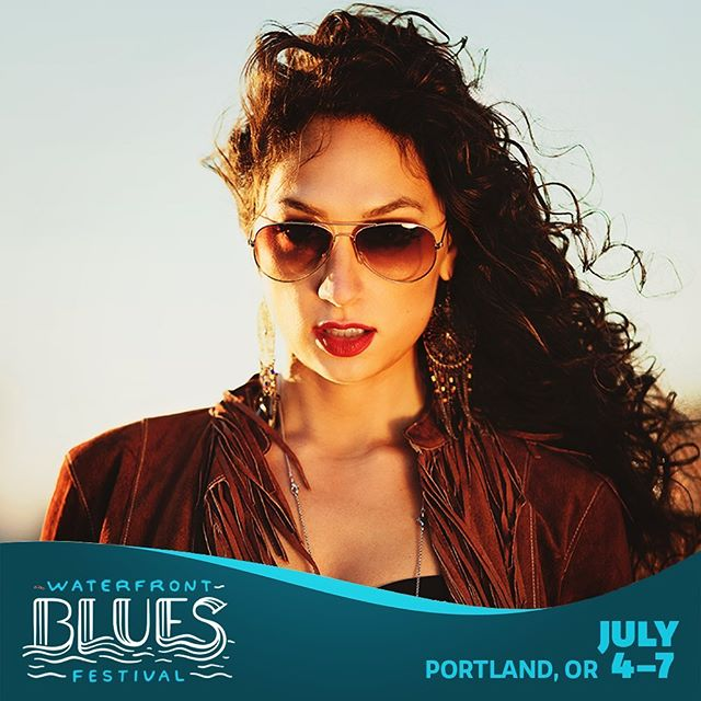 Portland! We're looking forward to playing the Waterfront Blues Fest this Sunday July 7th  3pm on the Main Stage!  @WaterFrontBlues