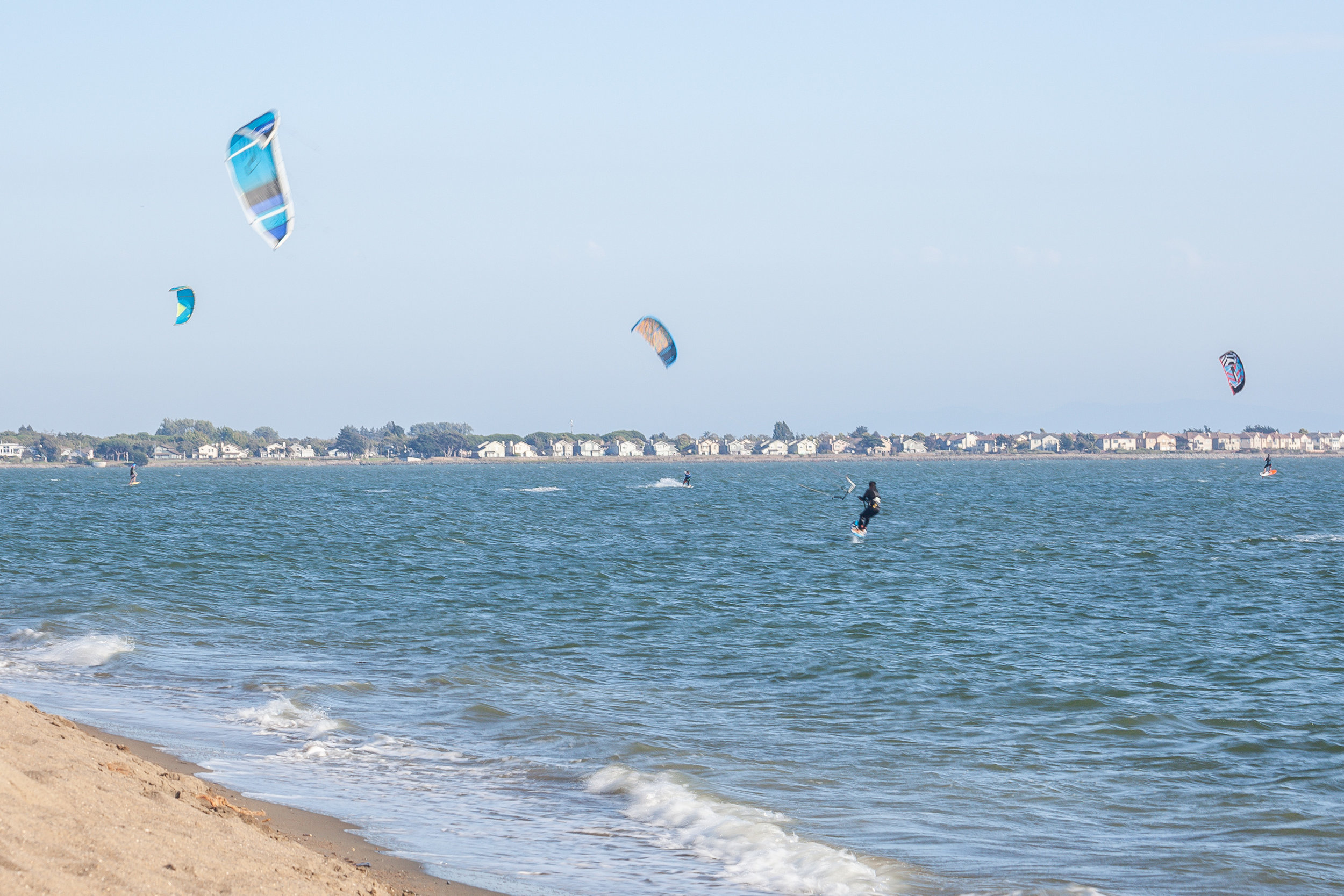Kite Surf in the Summer