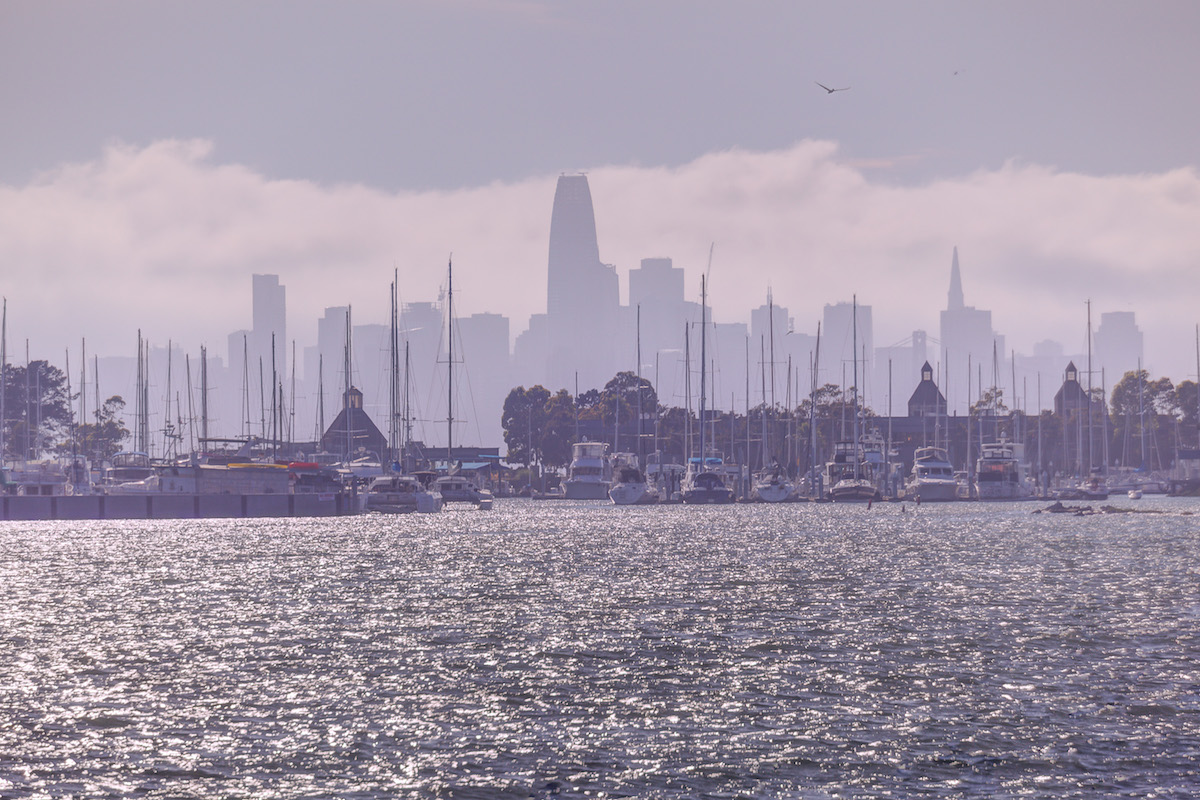 Enjoy the View of the SF Skyline from your Apt