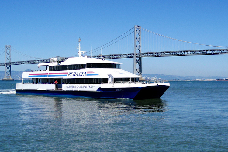 Take the Ferry to Oakland and SF