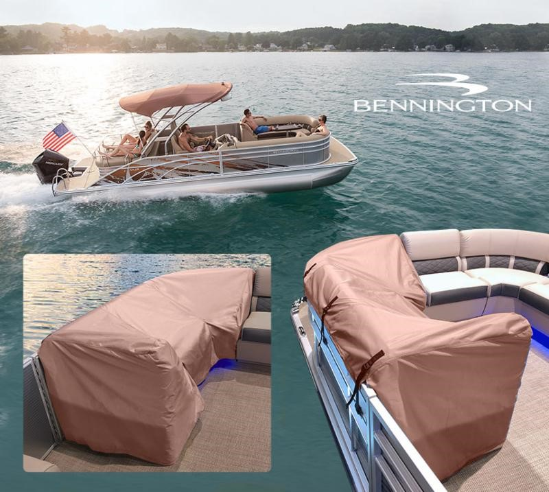 Bennington Pontoon Seat Covers — Puffin Boat Company