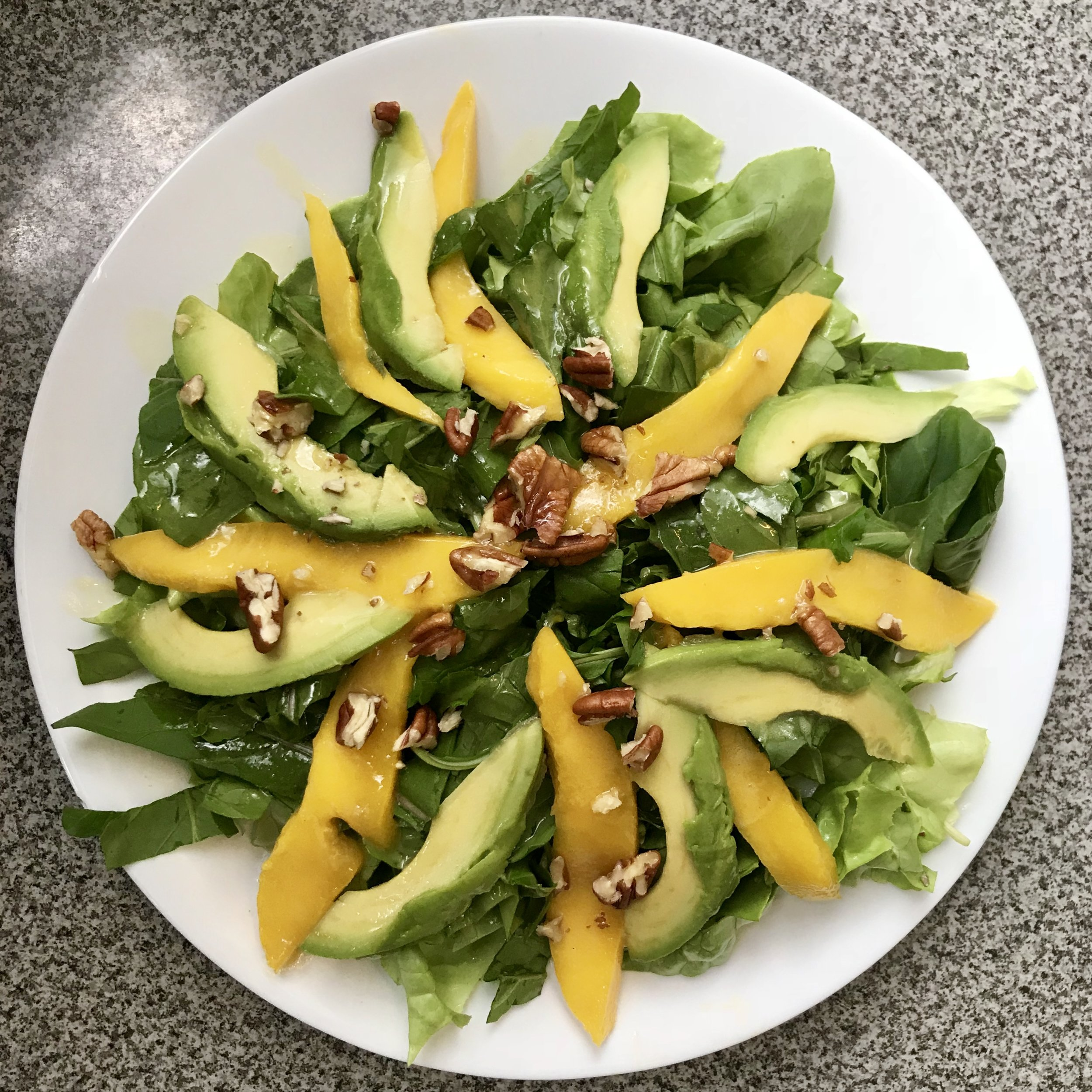 This salad was definitely a winner. It would be a great meal during Whole30, without the dressing.