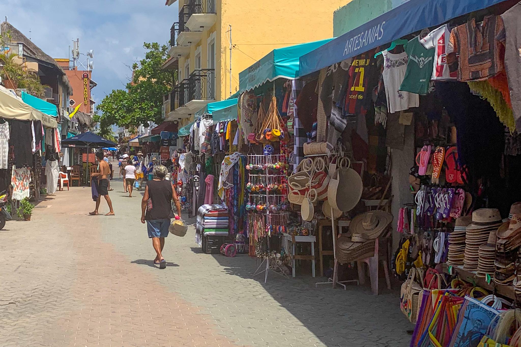 The roads are perfect for golf cart rentals, and the vendors have a ton of cute souvenirs.