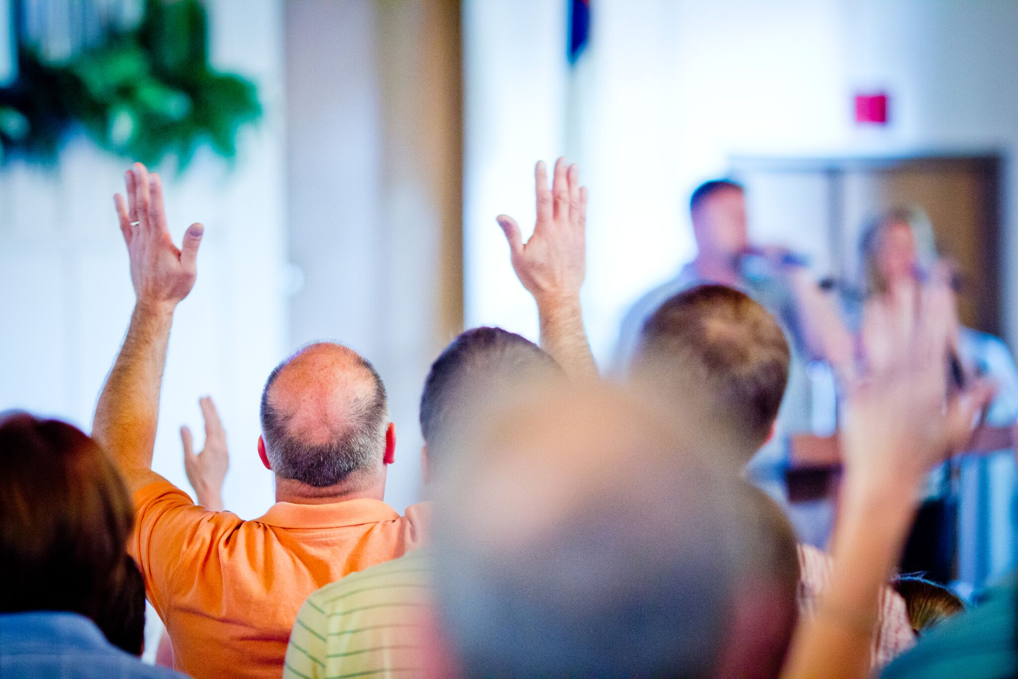 EXALTING CHRIST - Connecting with God through corporate worship in a community setting.