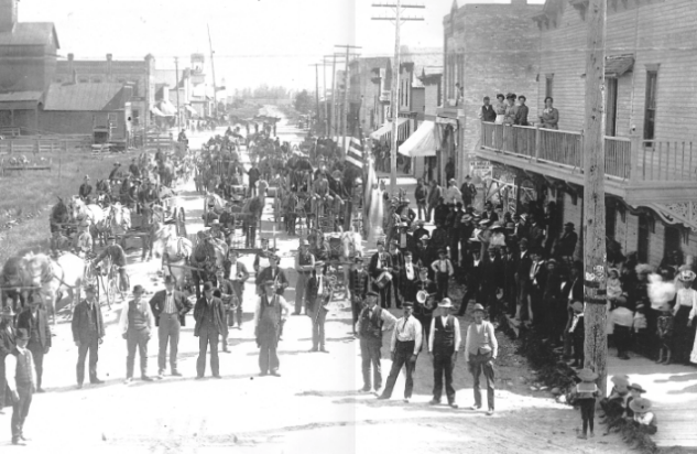 1896 Pigeon Settlers gather for McCormick Day