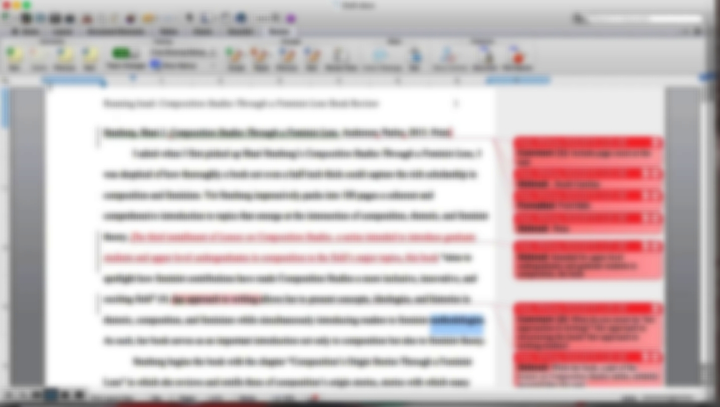 Editing for Busy People -