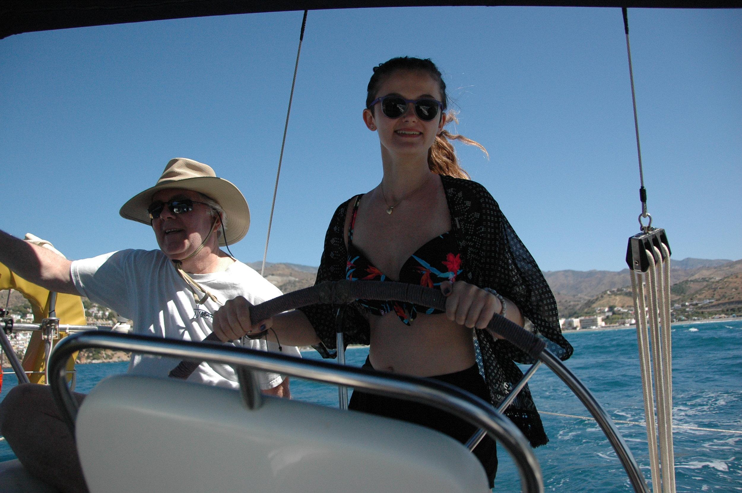 Sailing In Spain.JPG