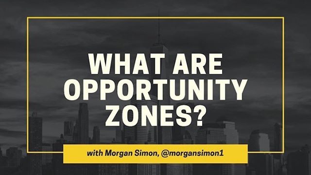 What are #OpportunityZones? Here's what you need to know in under 2 mins. More highlight videos from CSPAN interview coming soon