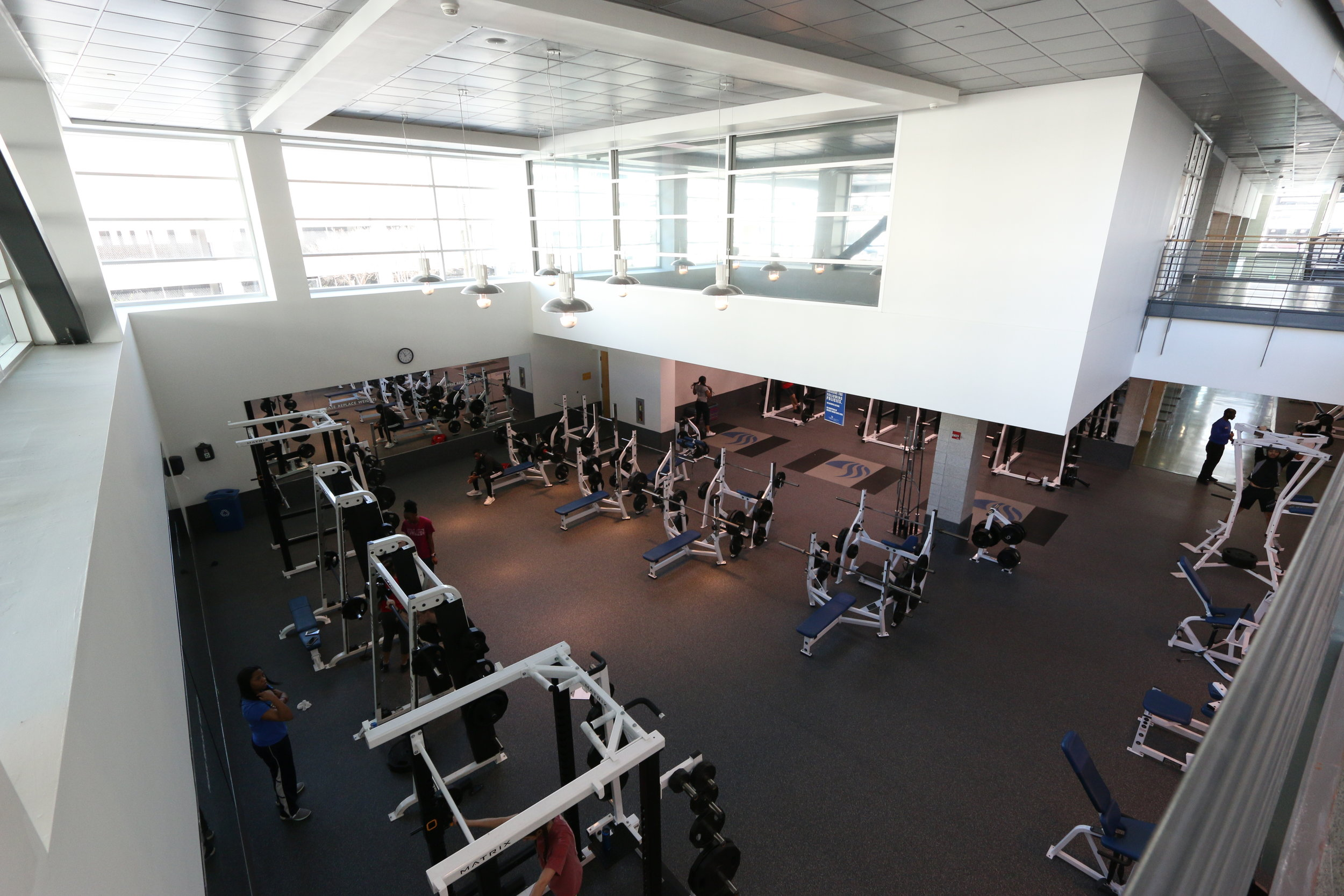 STUDENT RECREATION CENTER -