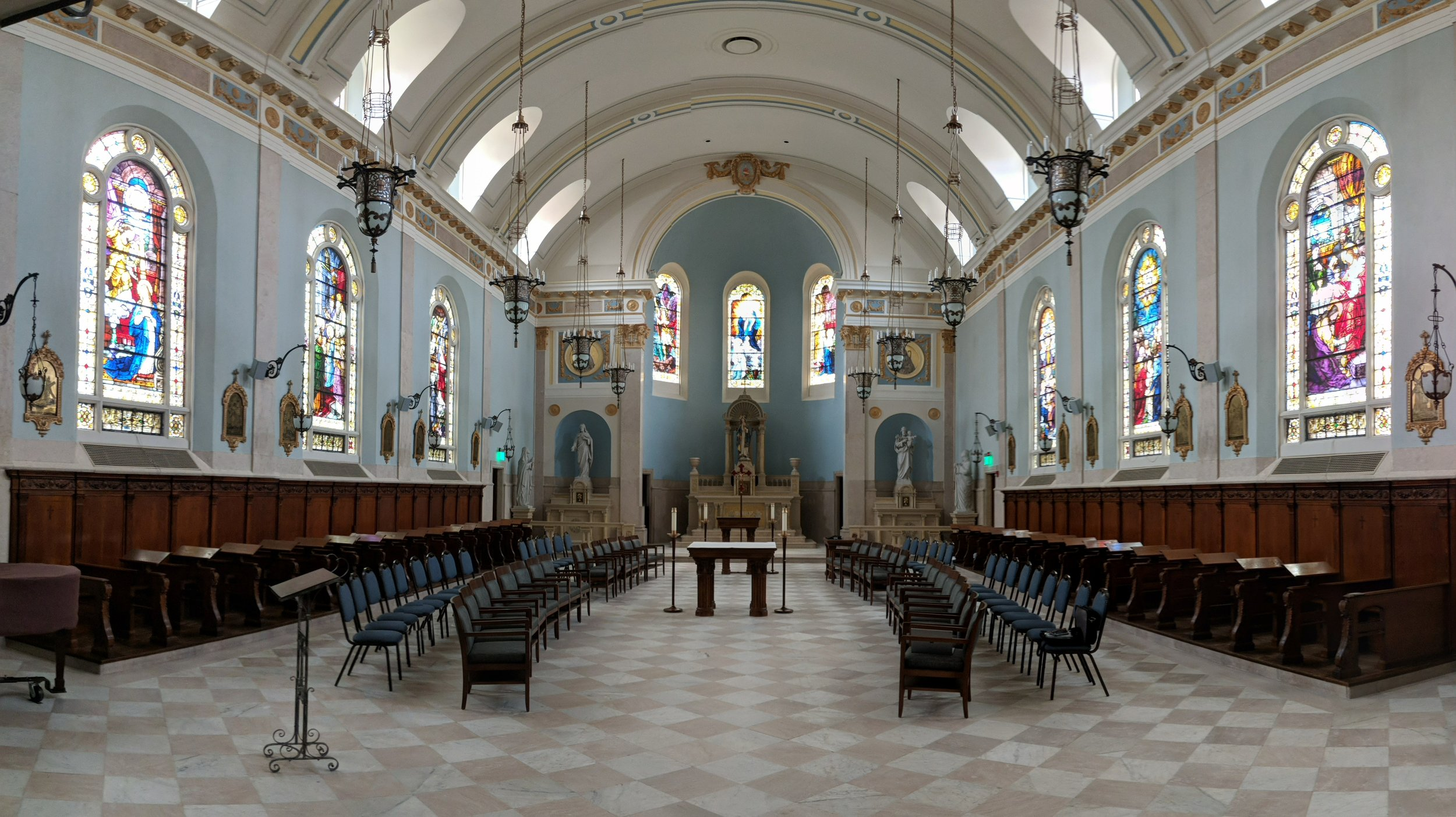 The recently renovated Marymount Convent uses all CAMM DT-200 speakers for audio reproduction.