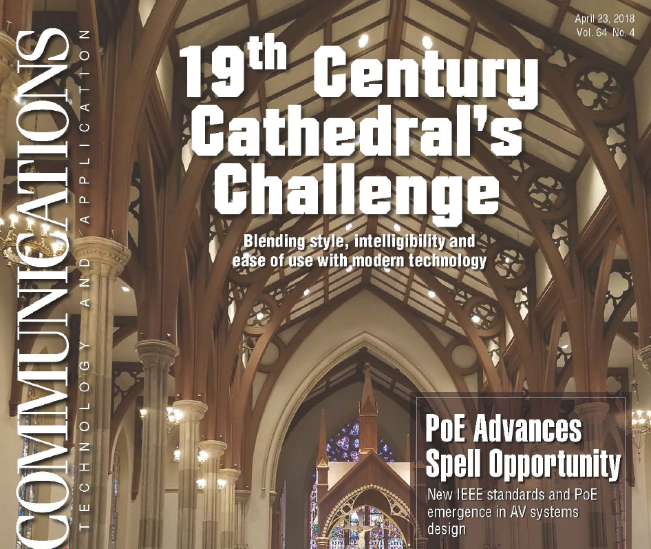 Paterson Cathedral - Explore the AV Trends for Houses of Worship and the transitions in audio, video, and lighting in today's venues.