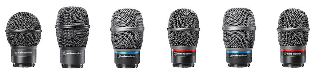 Interchangeable microphone capsules allow for the ability to customize the wireless handheld to your needs