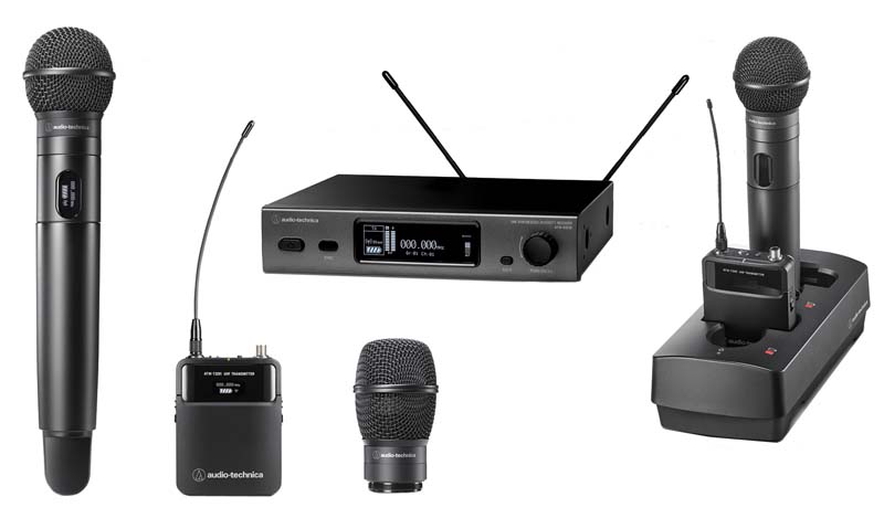 Various Wireless Microphone Equipment