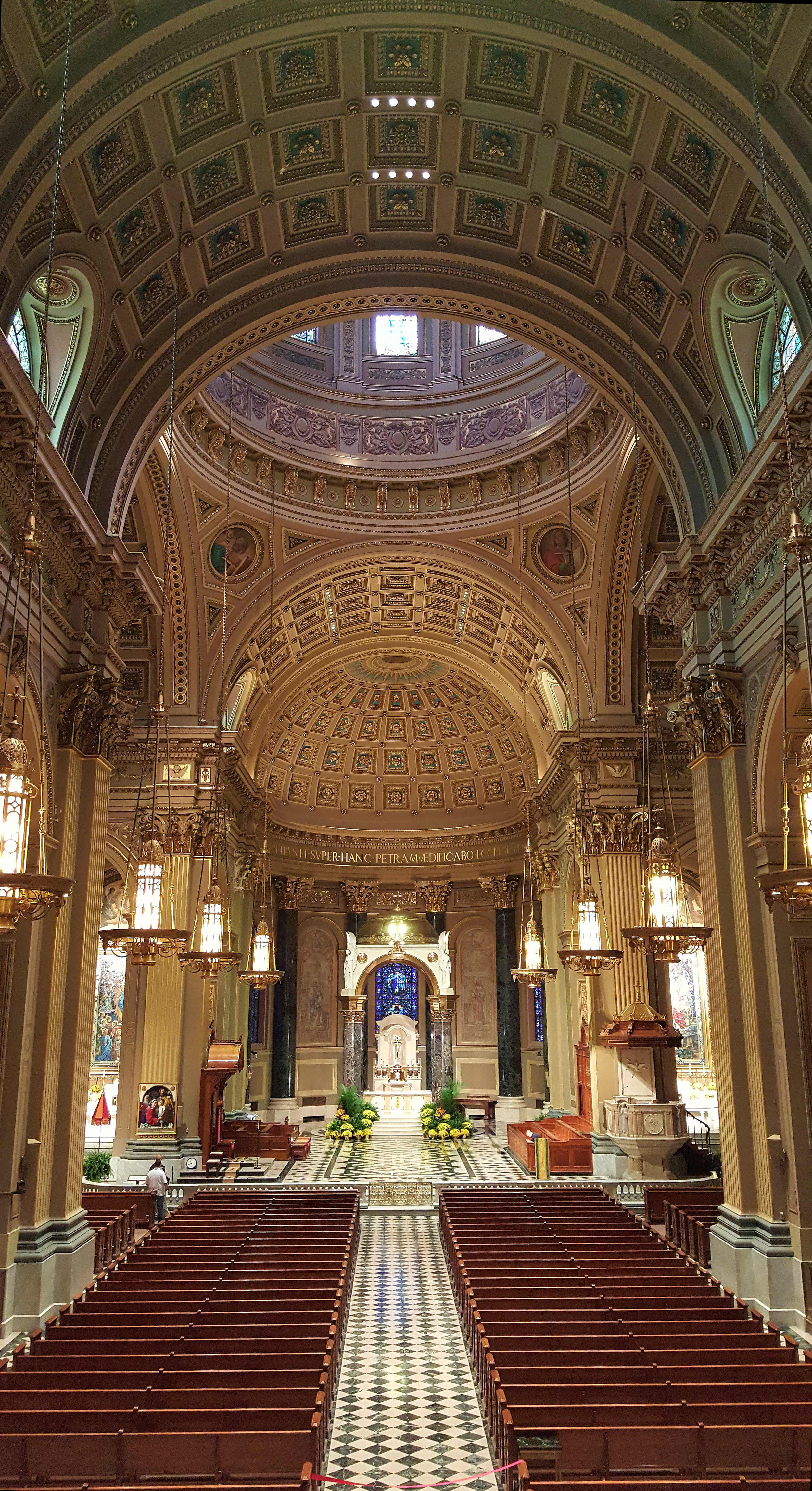 The Cathedral Basilica of Saints Peter and Paul in Philadelphia.
