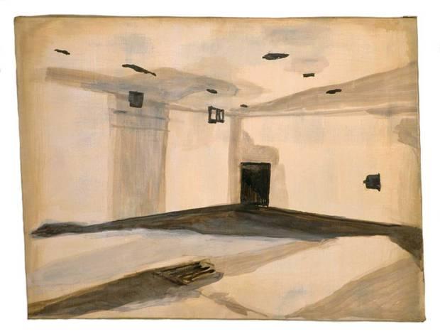Luc Tuymans, Gaskamer (Gas Chamber) 1986