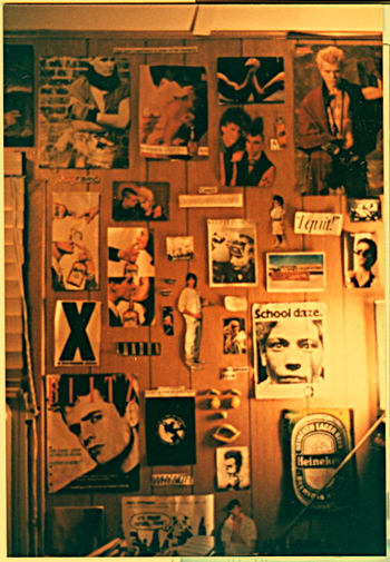 Wall, the Little House, circa 1986.