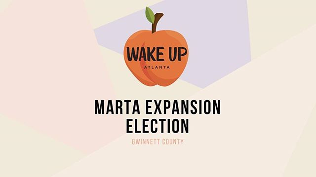 Hi friends! Shoutout to @wakeup_atlanta for always encouraging us ATL locals to be civically engaged and allowing political understanding to actually seem accessible to all. We got MARTA expansion referendum happening right now. Early voting ends March 15, and polls will be open 7AM-7PM EVERYDAY (including weekends) till then. Regular voting will be March 19! Go out and vote y'all 🗳 also, fun fact for this referendum: only 2.8% of voters are Asian American. 😀 Let's raise that percentage, shall we?