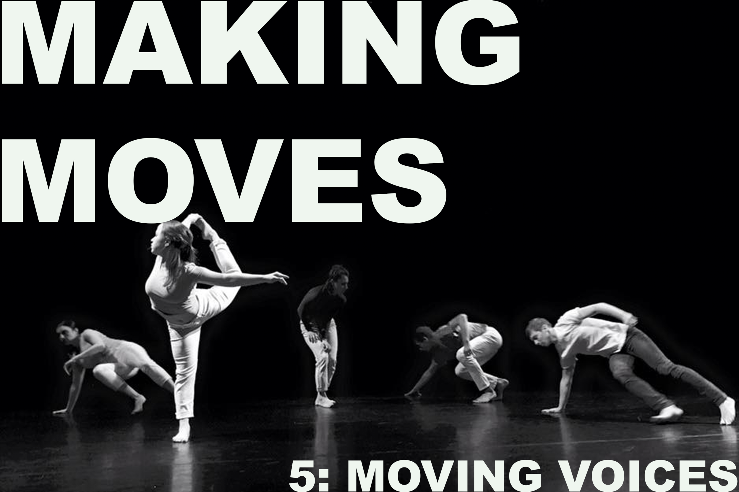 Making Moves is BACK! For our fifth installment, Making Moves will present dance works by Brianna Wheeler, Lauri Hoedel, and Hunter Jones. After the performance, a screening from The Merce Cunningham event Night of 100 Solos: A Centennial Event. The performance was filmed live celebrating what would have been the 100th birthday of legendary choreographer Merce Cunningham.   Doors open at 6:30 PM and performances begin at 7:00 PM.   The event is FREE and open to the public. All ages are welcome.  A monthly gathering, Making Moves aims to build community through a shared passion for dance and movement. Throughout 2019, Making Moves will host improvisation jams and provide performance opportunities for local and regional dance makers. The series is produced by Kyle Mullins and made possible by Charlotte Street Foundation.