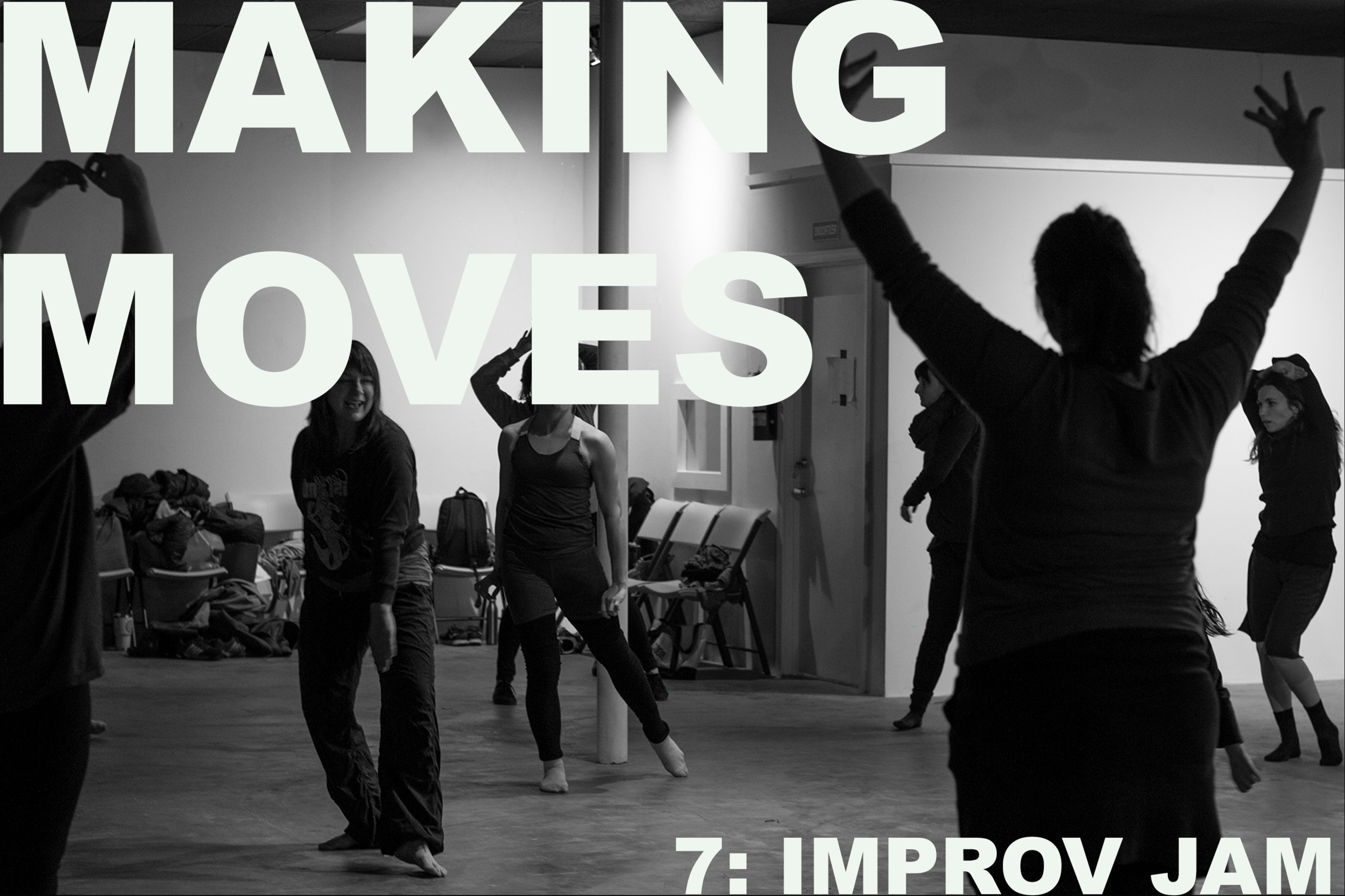 For Making Moves 7, let's kick off summer with an Improv Jam! Lead by local dance artist Jeramy Zimmerman, we will move through guided improvisation tasks and scores to connect with ourselves, other bodies, and space. Accompanied by a live musician, we will explore our moving selves in a safe and joyful environment. The Improv Jam is appropriate for movers of all backgrounds, ages, and abilities.   The event is FREE and open to the public. All ages are welcome.  A monthly gathering, Making Moves aims to build community through a shared passion for dance and movement. Throughout 2019, Making Moves will host improvisation jams and provide performance opportunities for local and regional dance makers. The series is produced by Kyle Mullins and made possible by Charlotte Street Foundation.