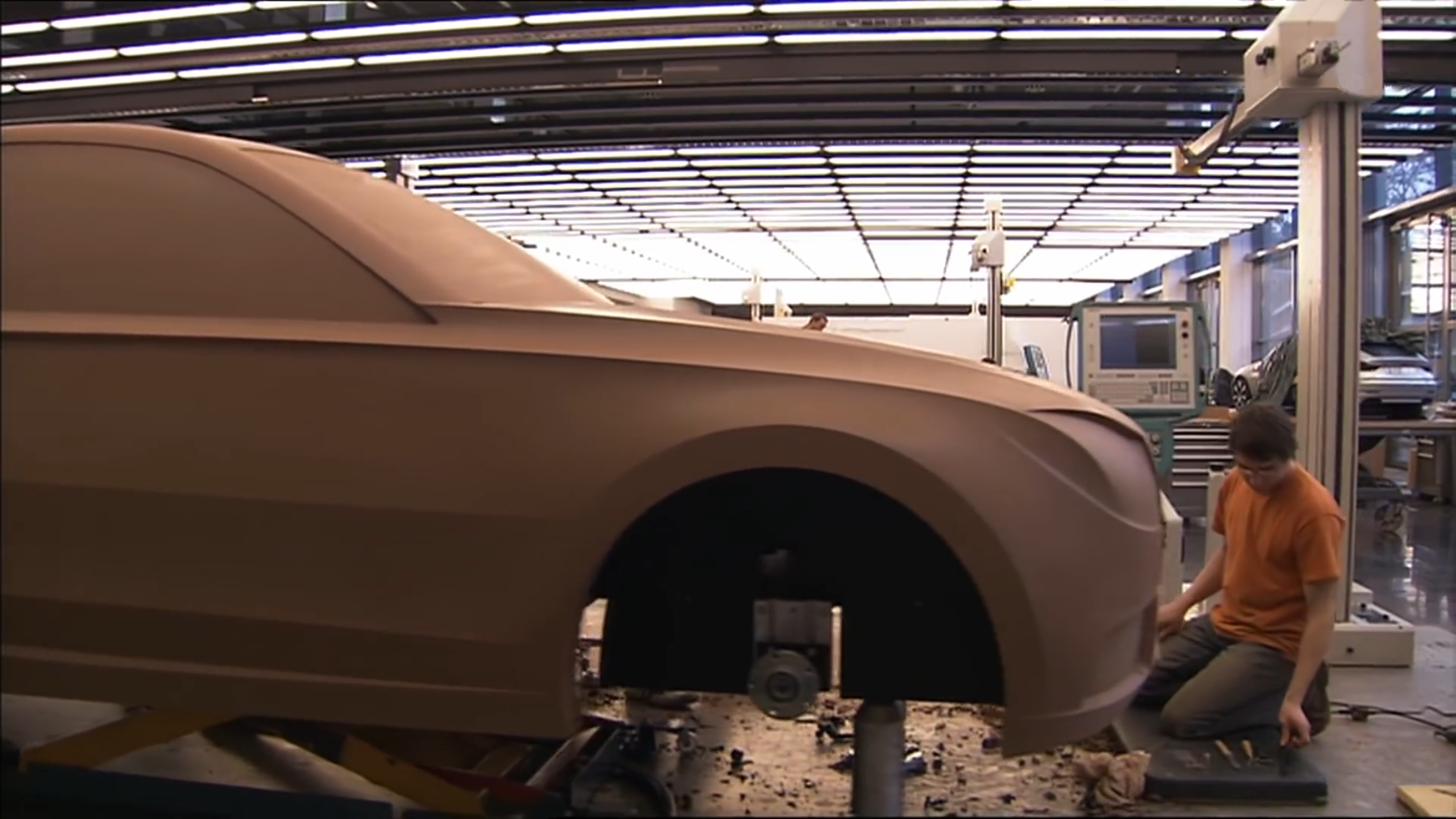 Why Clay Is Here To Stay Clay Modeling In Automotive Industrial Design The Maker S Field Guide