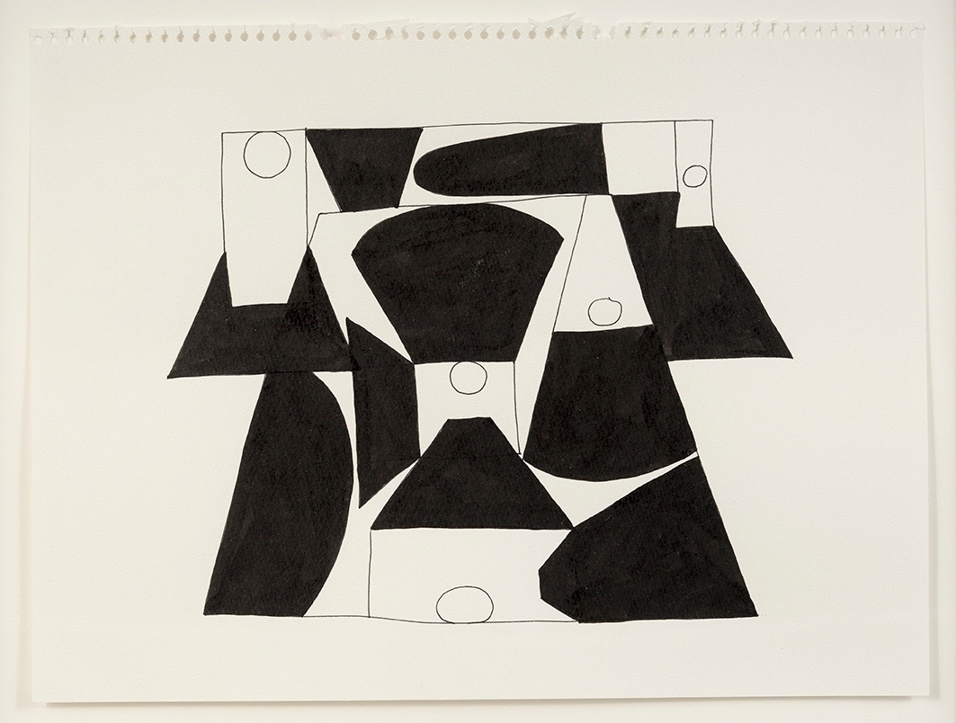 Ink Drawing 5, 2013