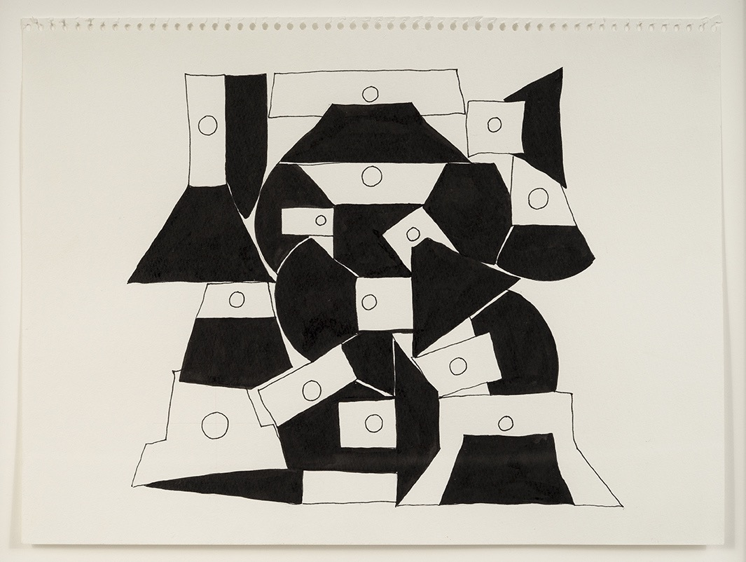 Ink Drawing 6, 2013