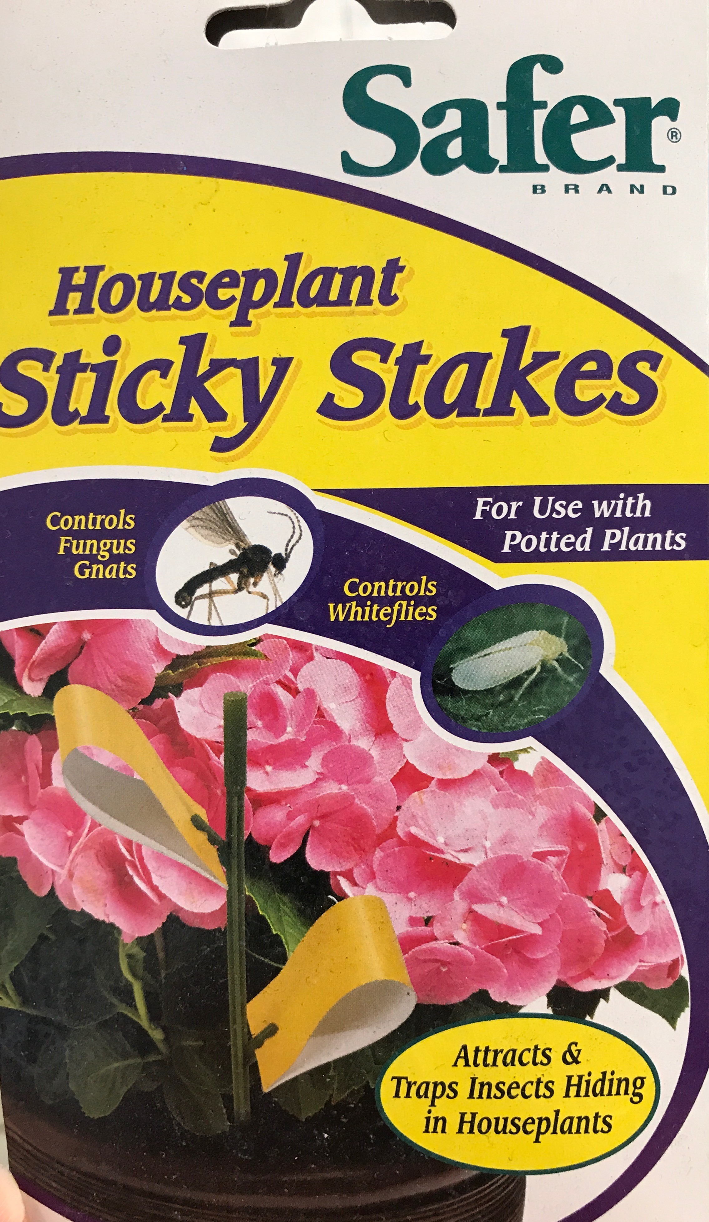 Sticky stakes - Effective organic traps