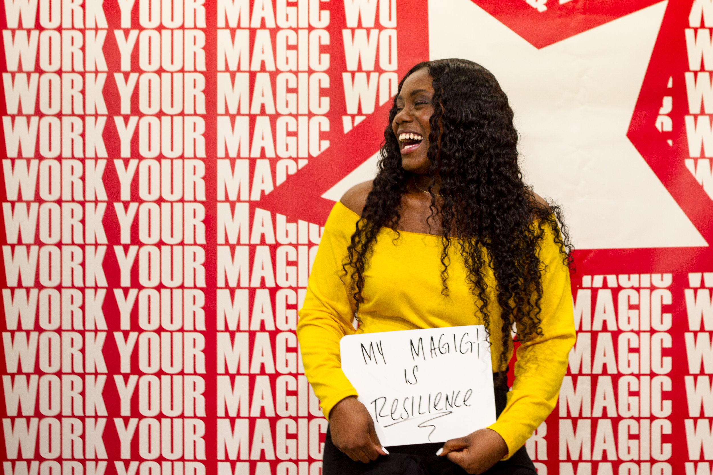 Work Your Magic, A Day of Empowerment - Through this series of events, foster youth and at-risk teens participate in a day of workshops that build confidence, inner beauty and professional skills. Inspiring role models share their stories and help every girl find her magic within.