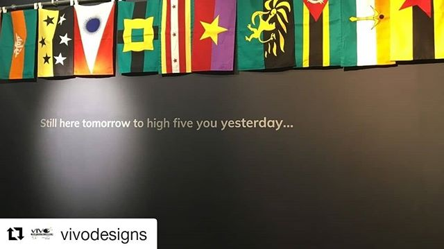 "#Repost @vivodesigns ・・・ ""Still here tomorrow to high five you yesterday...""⠀⠀⠀⠀⠀⠀⠀⠀⠀ ⠀⠀⠀⠀⠀⠀⠀⠀⠀ #SIAAbroad #arts #CGU #ArtsManagement #GradProgram #CapeTown #SouthAfrica #Zeitz #MoCAA #Quote"