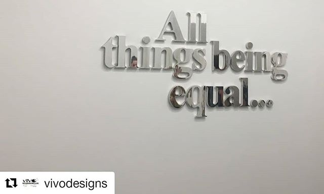 "#Repost @vivodesigns ・・・ ""All things being equal..."" What is your interpretation? ⠀⠀⠀⠀⠀⠀⠀⠀⠀ ⠀⠀⠀⠀⠀⠀⠀⠀⠀ #SIAAbroad #arts #CGU #ArtsManagement #GradProgram #SouthAfrica #CapeTown #MoCAA"