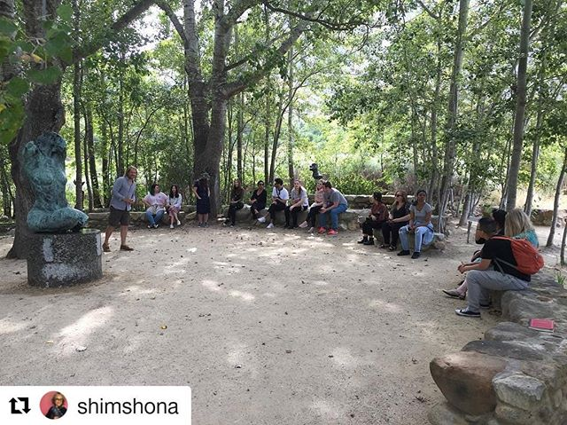 #Repost @shimshona ・・・ Sculpture. Gardens. Poetry. Peace. Thank you for such a moving experience #dylanlewis #dylanlewissculpturegarden #siaabroad @sothebysinstitute @claremontgraduateuniversity
