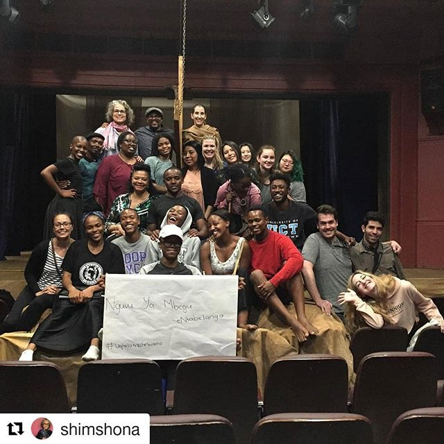 #Repost @shimshona ・・・ Wrapped up today with a global arts exchange with emerging artists on entrepreneurship, value, and fundraising. Then @mandla.mbothwe 's amazing students performed an excerpt of a multi-lingual production (isiXosa, isiZulu, Swahili) with dance, song, and script. #siaabroad @sothebysinstitute @claremontgraduateuniversity @universityofcapetown @roni_jordan