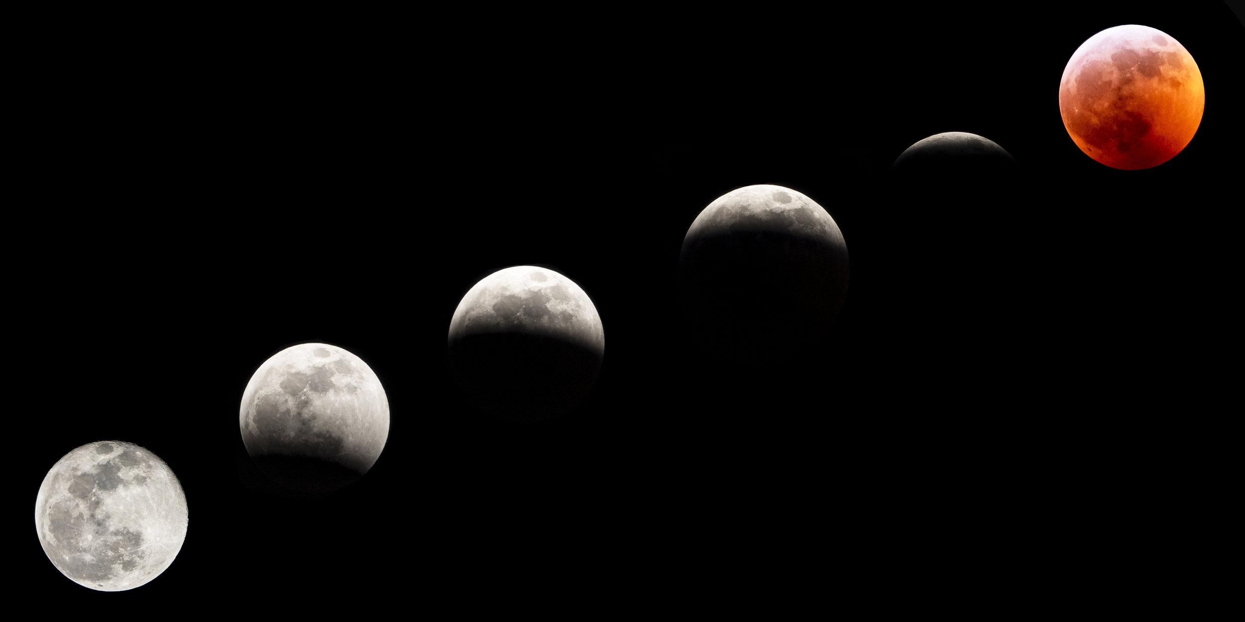 Super Blood Wolf Moon Eclipse 1/20/19