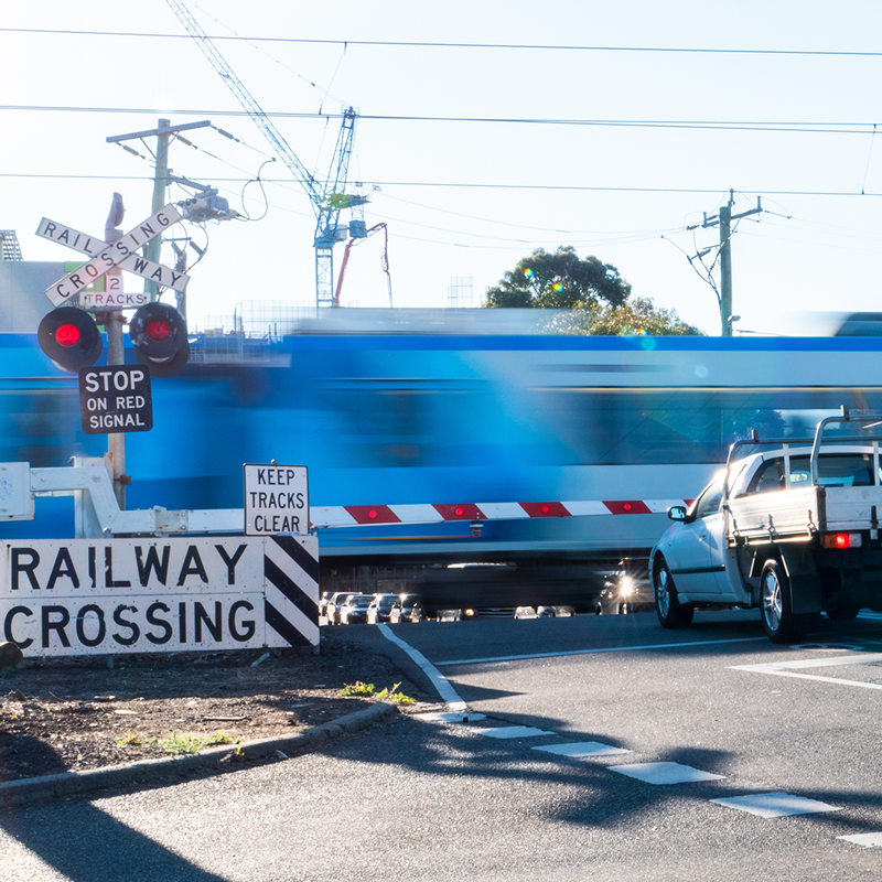 removing 75 level crossings -