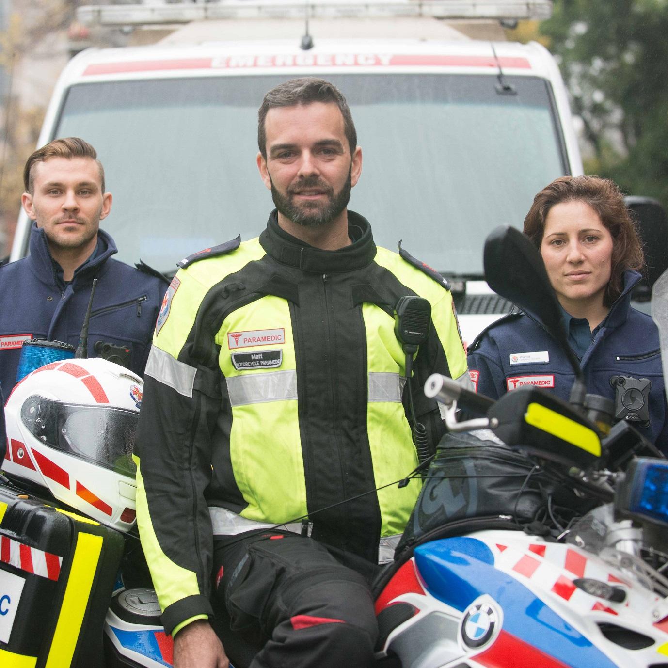 Backing our paramedics -