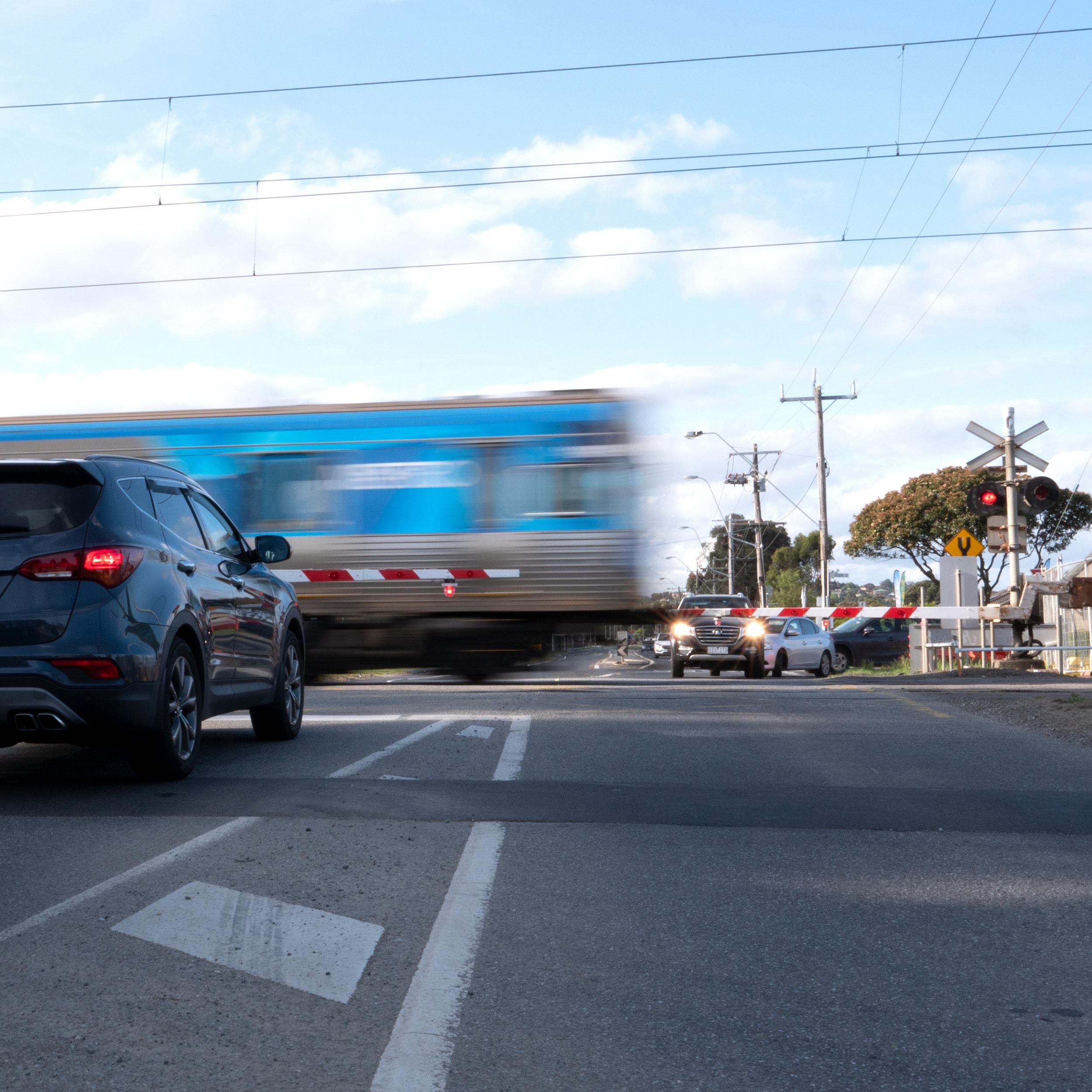 Pakenham level crossing removals -