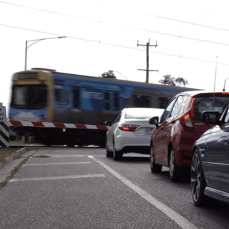 Cranbourne line level crossing removals -