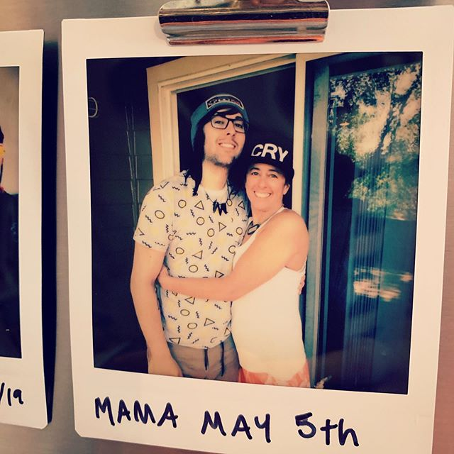 Happy Mother's Day to the best mom a weird emo dude in his late 20s could ask for. She's been so supportive of me following my dreams, inspirational in her determination to follow her own, and best of all; someone I consider one of my best friends. Love you momma! ❤️ #mom #mothersday