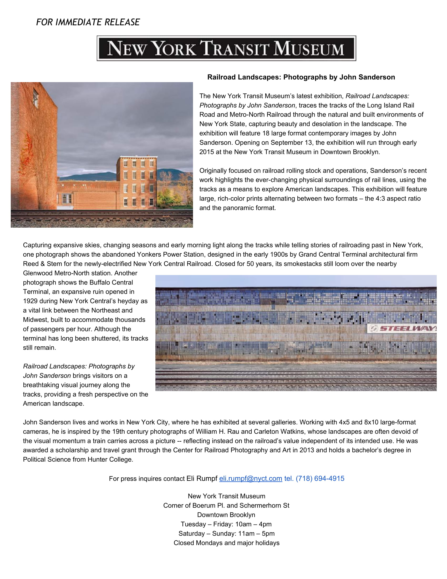 9-3-2014_Railroad Landscapes Exhibition_New York Transit Museum_Press_release.jpg