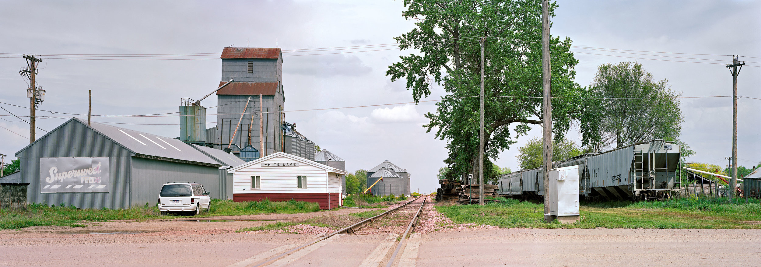 Depot, White Lake, South Dakota