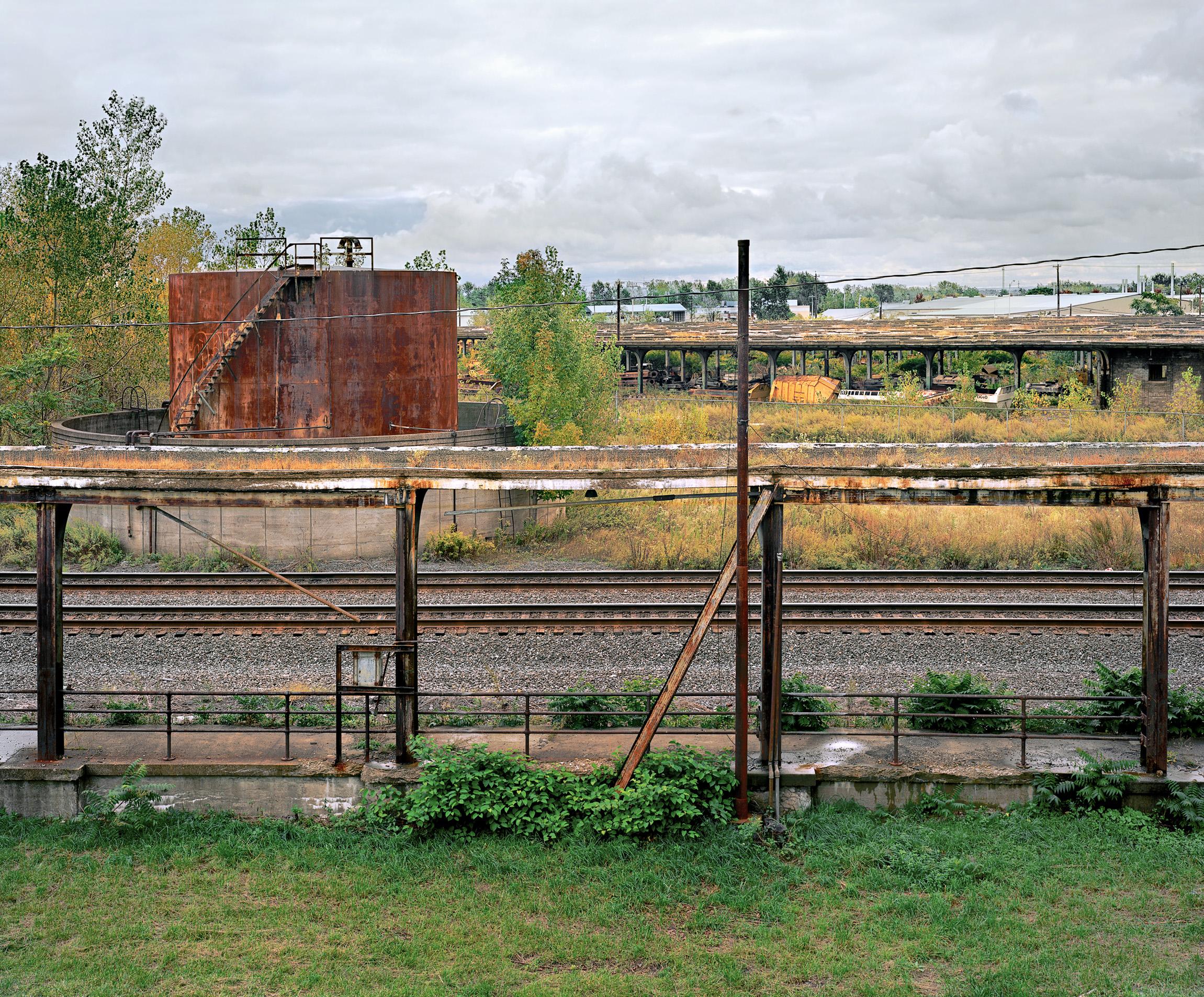 Platform, Buffalo Central Terminal, Buffalo, New York