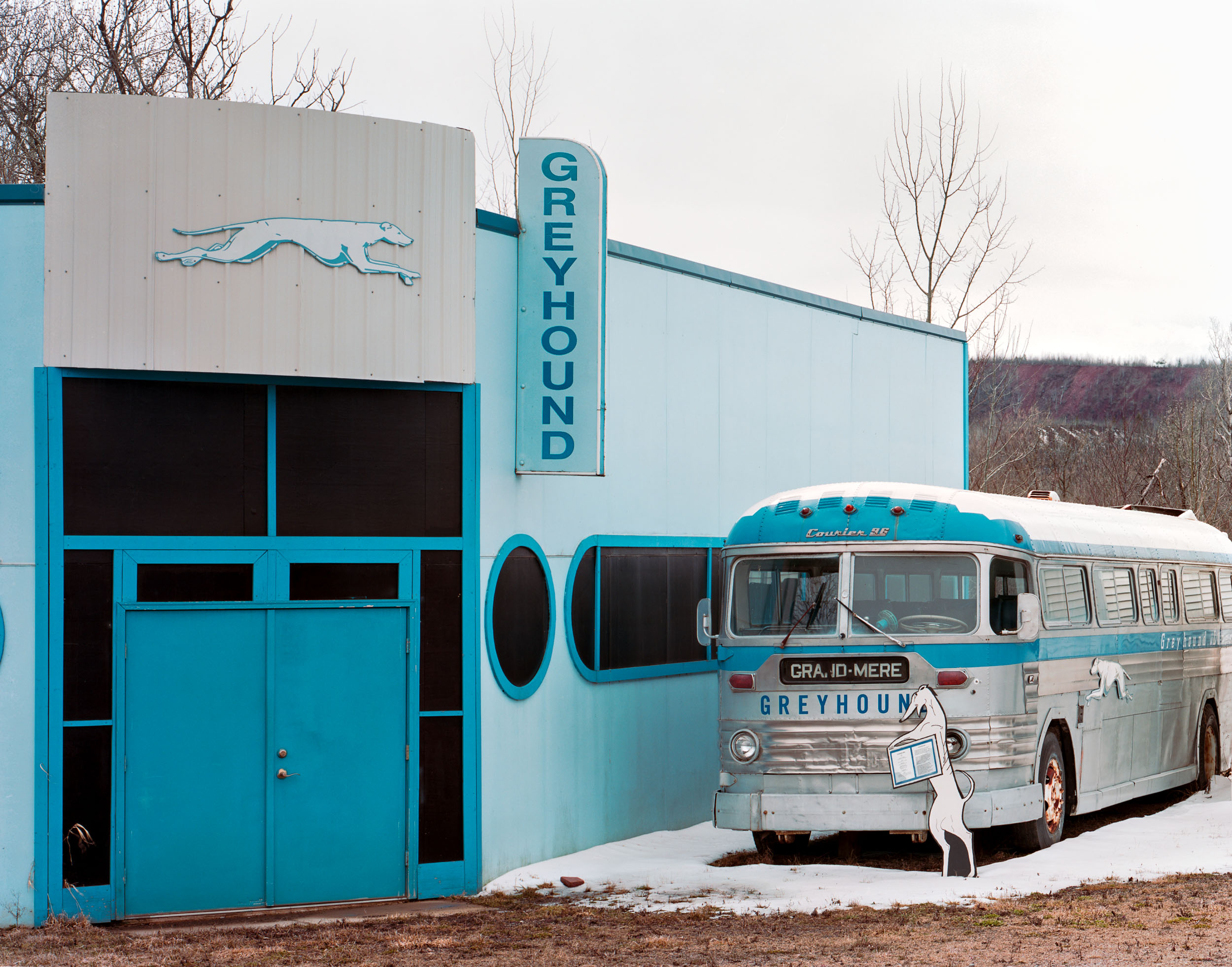 Greyhound, Hibbing, Minnesota